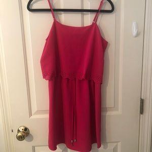 c. luce pink sundress